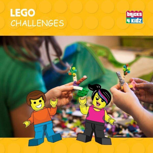 teamwork with lego challenges