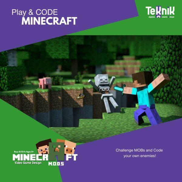 minecraft code your own mobs