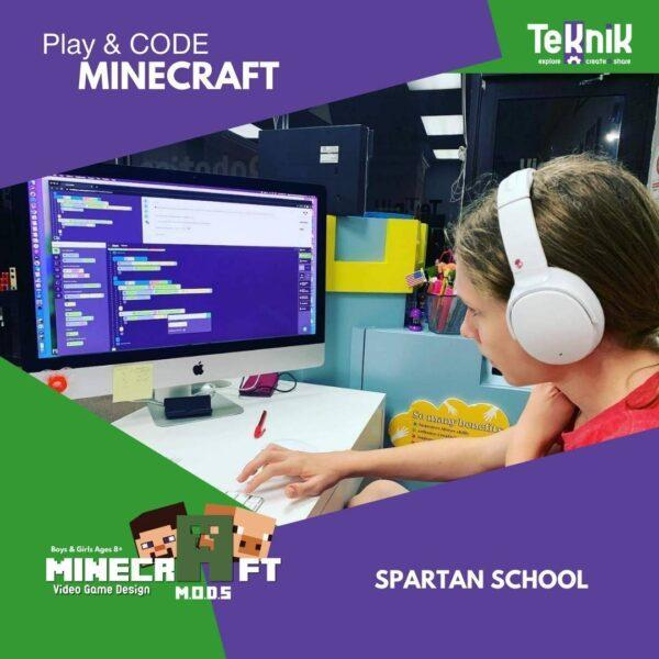 minecraft code and play