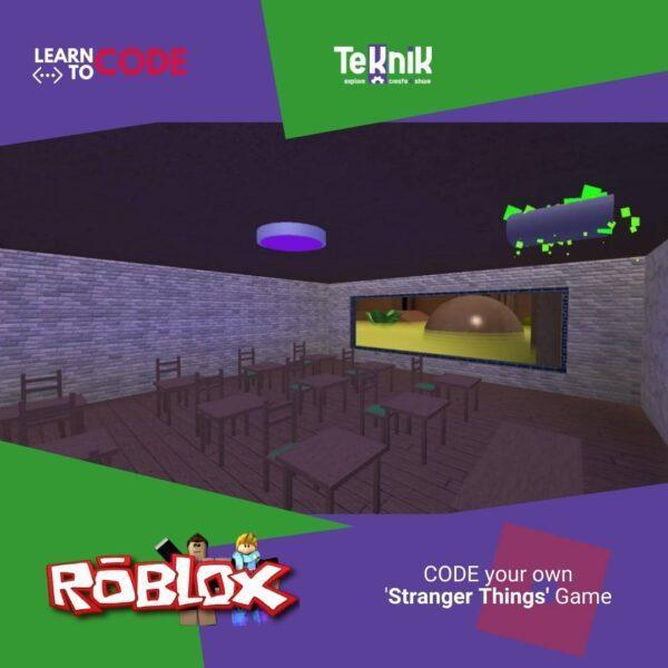 Stranger things roblox games