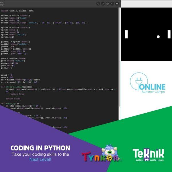 Coding in Python 3