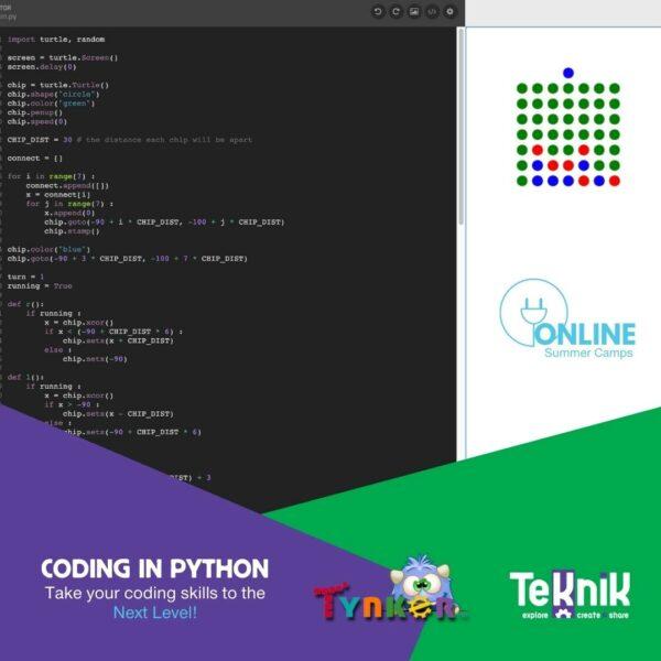 Coding in Python 4