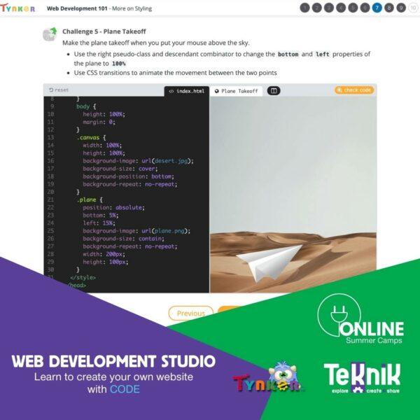 Web development studio 4