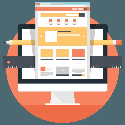 web development studio icon